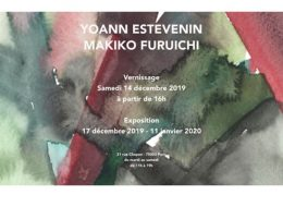 Yoann Estevenin & Makiko Furuichi – dessins et sculptures – 14/12 au 11/01 – Galerie Guido Romero Pierini, Paris