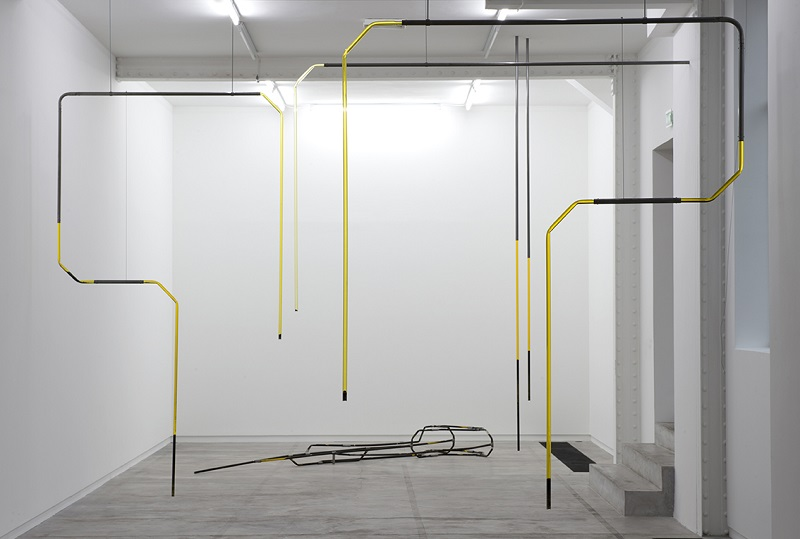 Anne-Charlotte Yver 3296, 2018 Installation Vue d'exposition, 3296, L'Ahah, 2018 Photo : Marc Domage Courtesy : L'Ahah, Paris