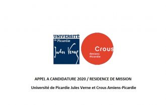 ▷14/02 – APPEL A CANDIDATURE 2020 / RESIDENCE DE MISSION