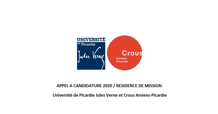 ▷14/02 – APPEL A CANDIDATURE 2020 / RESIDENCE DE MISSION