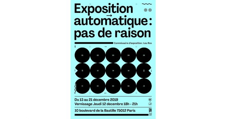 Automatique : pas de raison – 12 au 21/12 – Paris 12