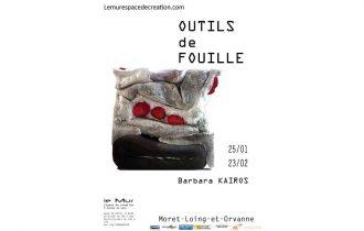 Barbara Kairos – Outils de fouille – 25/01 au 23/02 – Le Mur, espace de création d'Écuelles