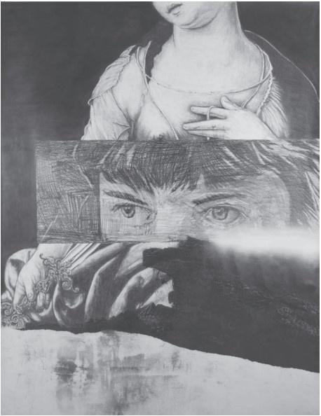 Frédéric Malette_exposition Un serpent dans le coeur_Galerie Catherine Putman Paris