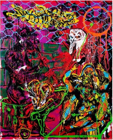Orsten Groom_EXOPULITAÏ The Trickster Meltdown_Centre d'Art A Cent Mètres du Centre du Monde_Perpignan