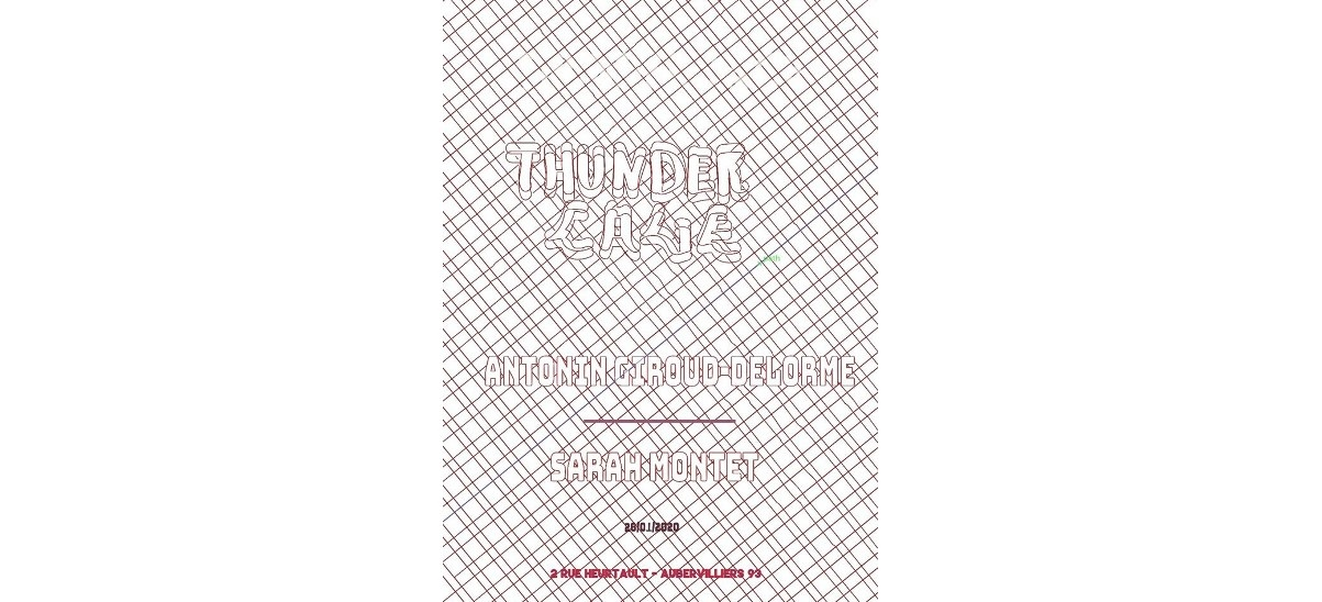 ThunderCage 12 – Antonin Giroud-Delorme vs. Sarah Montet – 26/01 – Aubervilliers