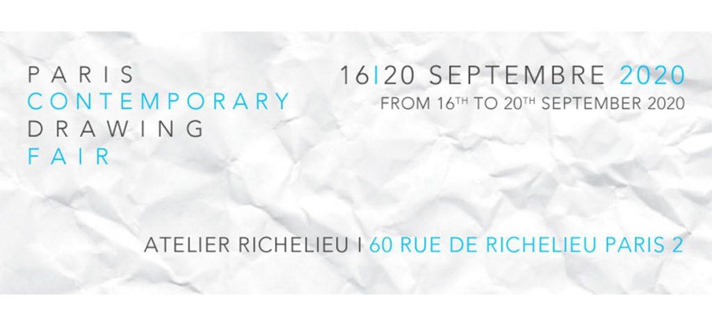 DDESSINPARIS, DDESSIN{20} - 16 au 20.09.20 - Atelier Richelieu, Paris