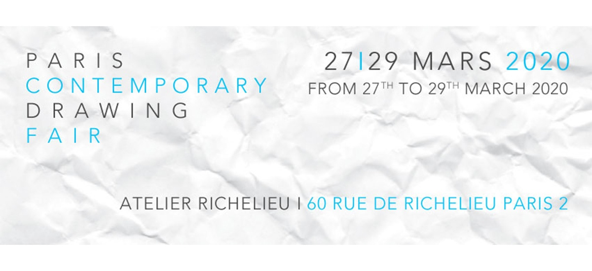 DDESSINPARIS, DDESSIN{20} – 27 au 29.03.20 – Atelier Richelieu, Paris