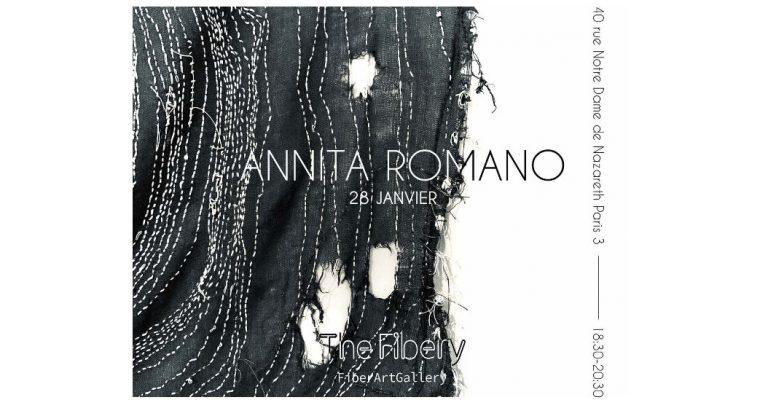 Annita Romano – 28/01 au 07/03 – The Fibery, galerie d'art textile, Paris