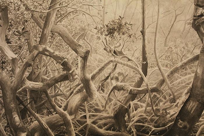 exposition Au-delà de l'Horizon _Galerie La Ferronnerie_Ludovic Nino-Substance-2019