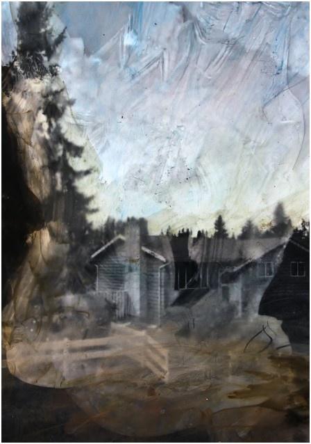 exposition On n'y voit rien_Eva Nielsen-Aklat II-2020_courtesy Galerie Anne-Sarah Bénichou_Paris