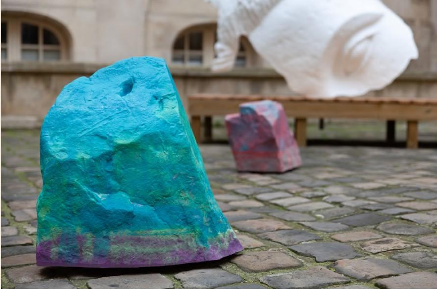 exposition On n'y voit rien_Julien Discrit-Mitate-2018_courtesy Galerie Anne-Sarah Bénichou_Paris