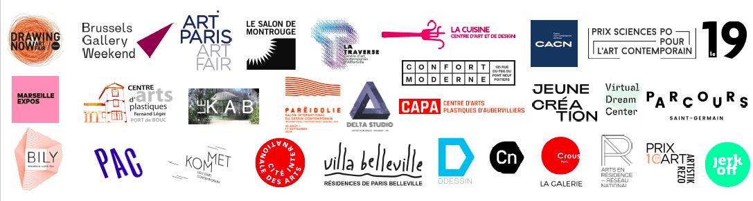 logos partenaires newsletter 2020