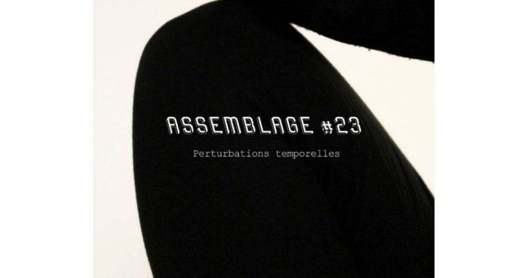 Assemblage #23 Perturbations temporelles – 07/03 au 04/04 – Julio Artist-run Space Paris