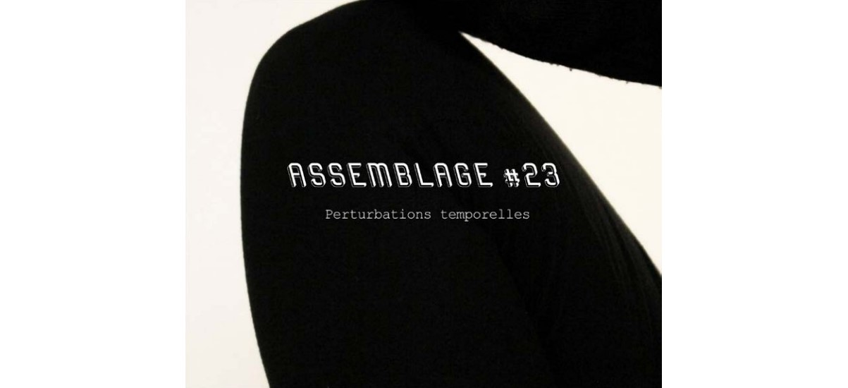 Assemblage #23 Perturbations temporelles –  Julio Artist-run Space Paris