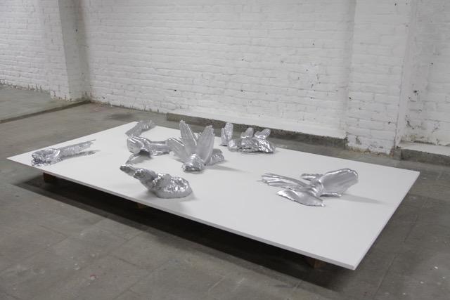 Guangli Liu « Les sannyasis », 2020 Impression 3D,