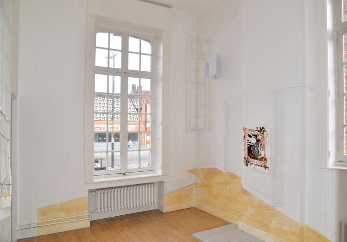 I'm easy to please_Plateforme Paris_Emmanuel-Simon-Vue de l'exposition (H)all over 17-Archipel #2-Ecole municipale d'arts plastiques de Denain-2019