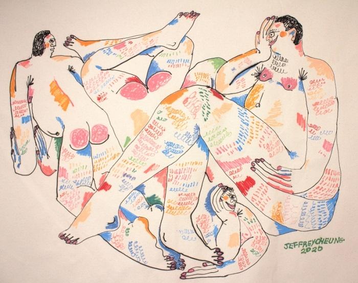 Jeffrey Cheung_exposition Ensemble_Bim Bam Gallery_Paris