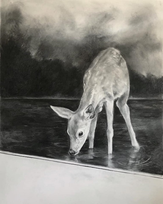 Lamri_Magdalena_Le_Piege_exposition Avant moi, le déluge_Galerie du Crochetan_Monthey_Suisse