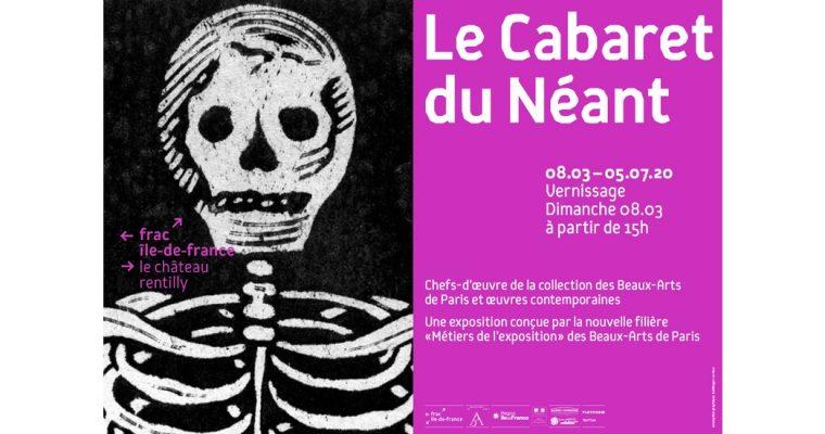 Le Cabaret du Néant – 08/03 au 05/07 – frac île-de-france, le château / Parc culturel de Rentilly – Michel Chartier