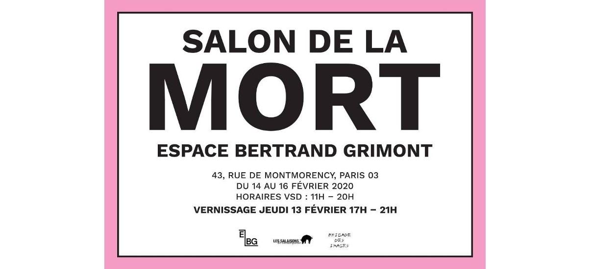 Salon de la Mort – 13 au 16/02 – Espace Bertrand Grimont, Paris