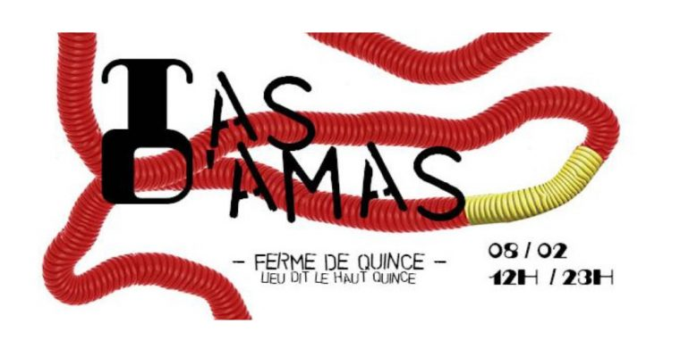Tᗩᔕ ᗪ'ᗩᗰᗩᔕ – 08 au 23/02 –  Ferme de Quincé, Rennes