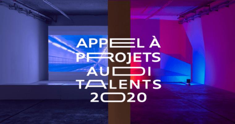 ▷16.03 – Appel à projets – Audi talents 2020