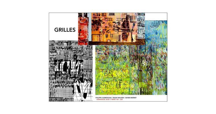 Grilles – 05/03 au 11/04 – Galerie Leymarie, Paris