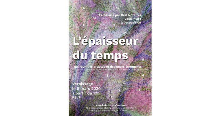 L'épaisseur du temps – La Galerie par Graf Notaires – Paris