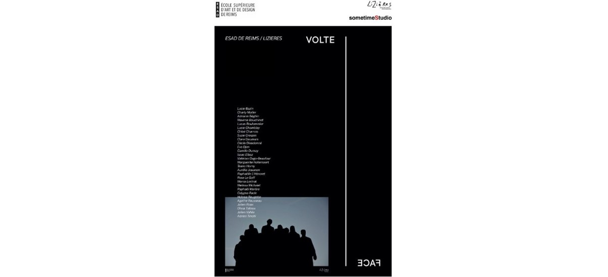 Volte face – 6 au 12/03 – sometimeStudio, Paris