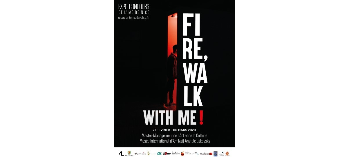 Fire, walk with me ! – 21/02 au 06/03 – Musée International d'Art Naïf Anatole Jakovsky, Nice