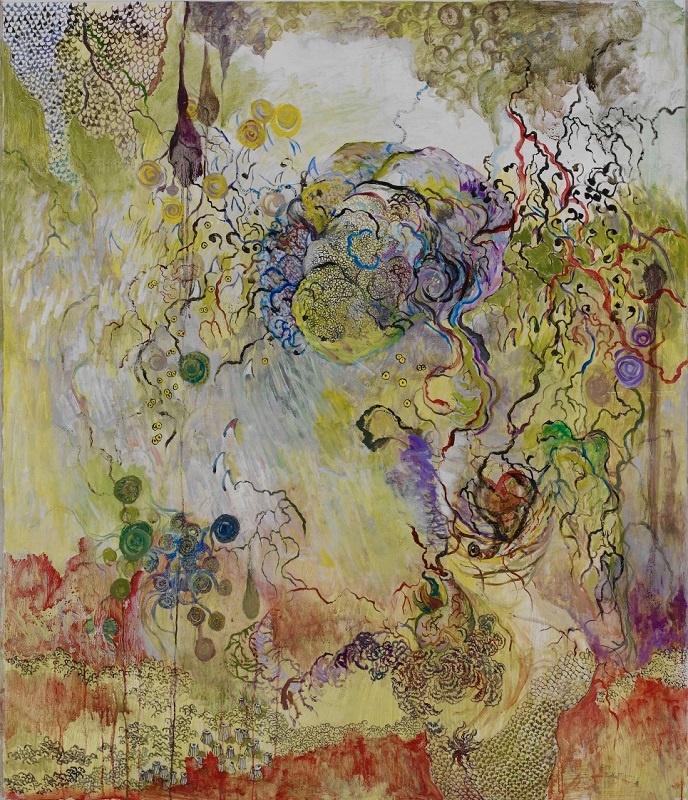 Naoko Majima_exposition Jigokuraku_Pierre-Yves Caër Gallery_Paris