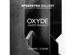 Xavier Magaldi – Oxyde – 14/03 au 11/04 – Speerstra Gallery Suisse