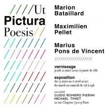 Ut Pictura Poesis- Galerie Guido Romero Pierini, Paris