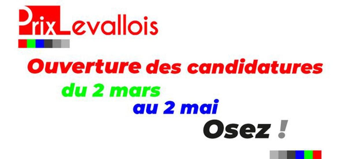 ▷02.05 – Appel à candidature pour le Prix Levallois 2020
