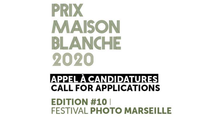 Appel à candidatures Prix Maison Blanche 2020