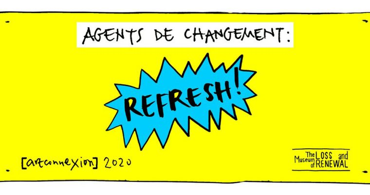 """Saison """"Refresh!"""" – 07 au 31/03 – artconnexion LILLE"""
