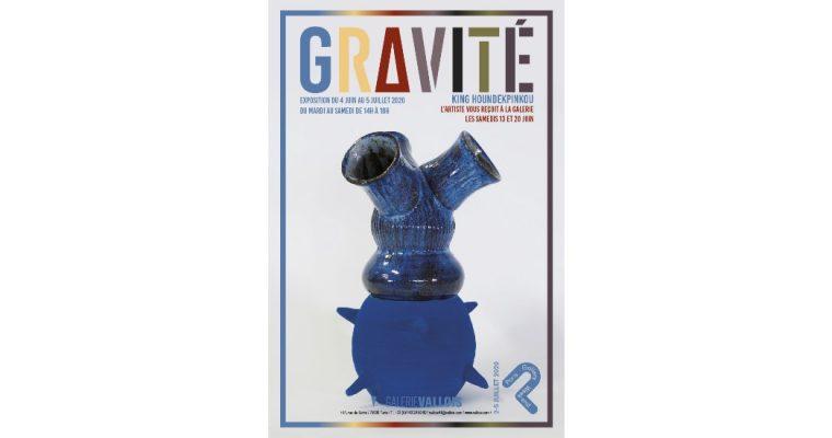 King Houndekpinkou – Gravité – 04 au 30/06 – Galerie Vallois Paris