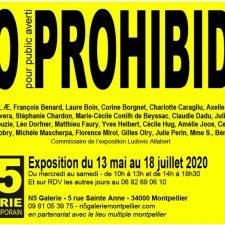 NO PROHIBIDA – 13/05 AU 18/07 – N5 GALERIE MONTPELLIER