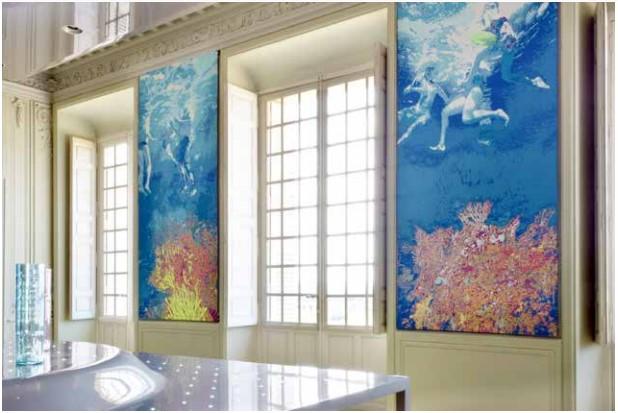 exposition au bout du plongeoir, le grand bain_Laurence Aëgerter-Galerie Binome-Paris