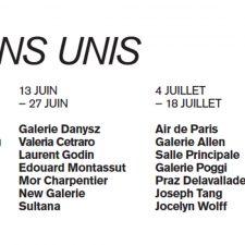 RESTONS UNIS – 23/05 AU 14/08 – GALERIE PERROTIN PARIS