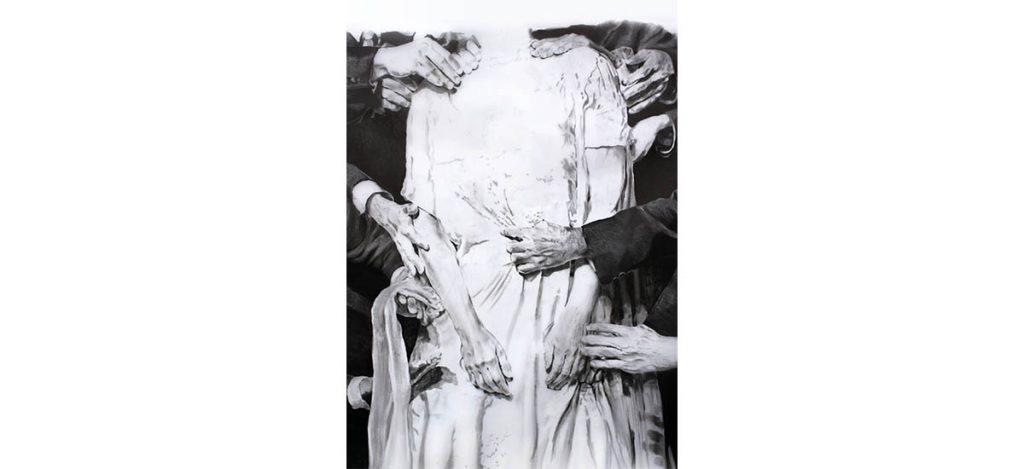 Exposition personnelle Printemps de Sarah Jérôme du 11 juillet au 29 août 2020 Galerie Vachet-Delmas, Sauve