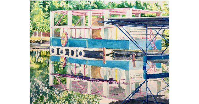 Marion Charlet – David Hockney, de la couleur avant toute chose – 26/06 au 26/09 – Chapelle de la Visitation de Thonon-Les-Bains