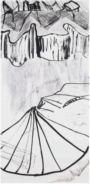 Per Kirkeby_gravures et monotypes_Galerie Catherine Putman_Paris