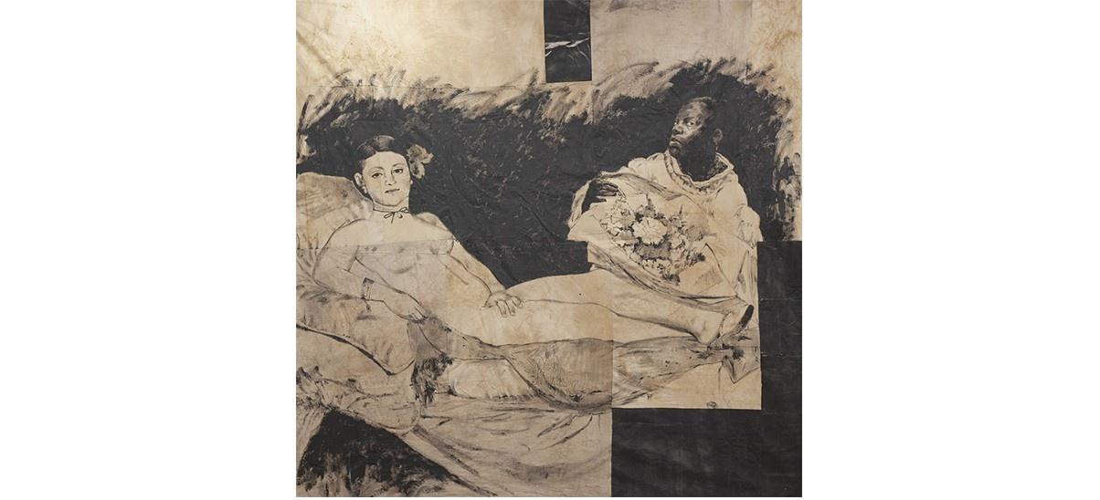 Roméo Mivekannin – Peaux noires, masques blancs – 20/06 au 31/07 – Galerie Eric Dupont, Paris