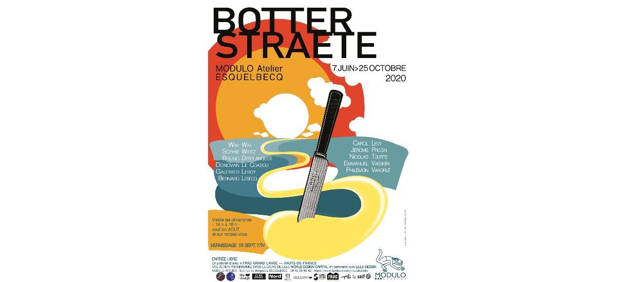 Botter Straete – 07/06 au 25/10 – Modulo Atelier, Esquelbecq