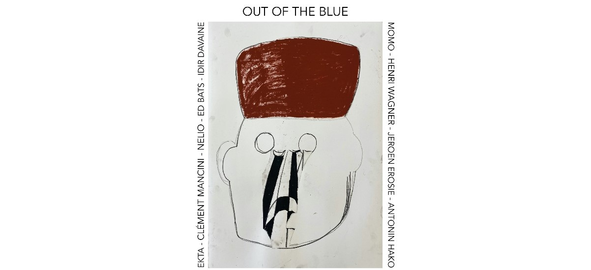 Out of the Blue – 04 au 28/06 – Galerie Slika, Lyon