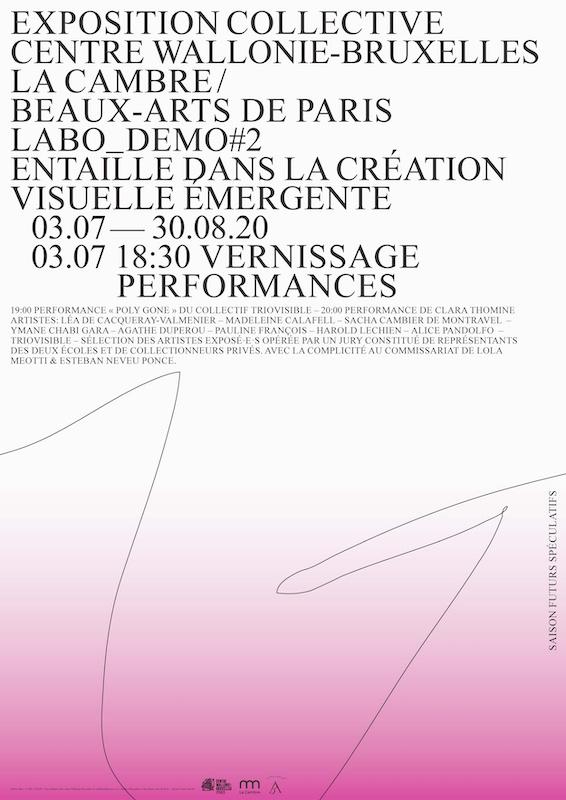 Exposition Labo_Demo #2 - 04/07 au 30/08 - Centre Wallonie-Bruxelles