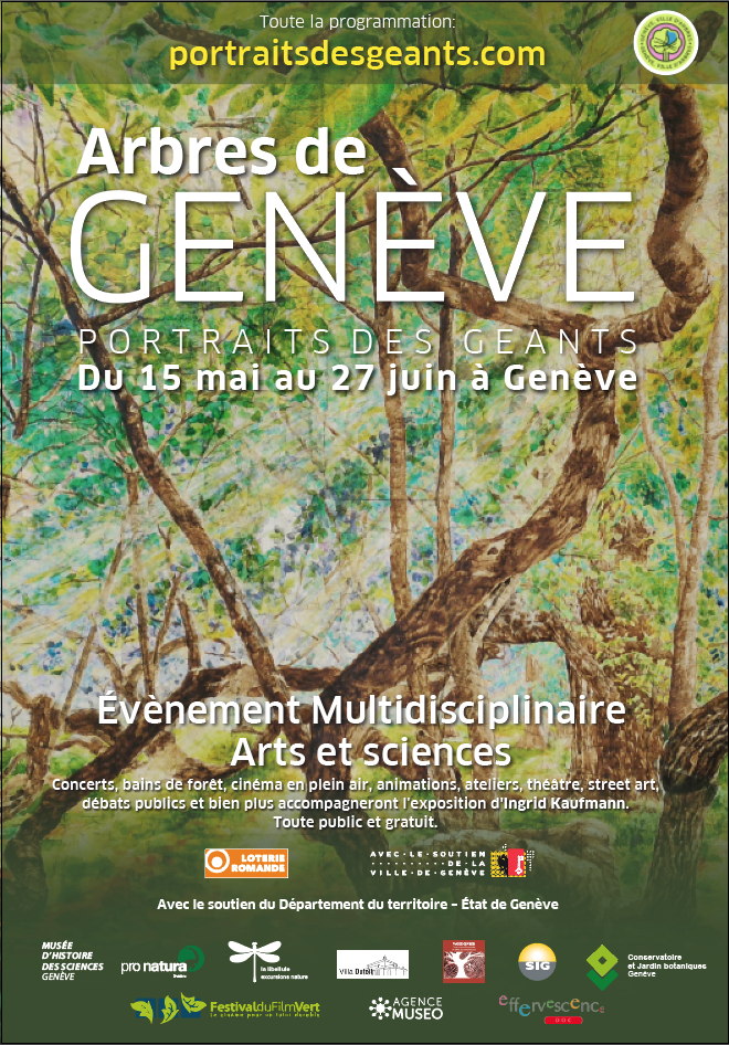 ARBRES DE GENEVE - PORTRAITS DES GEANTS