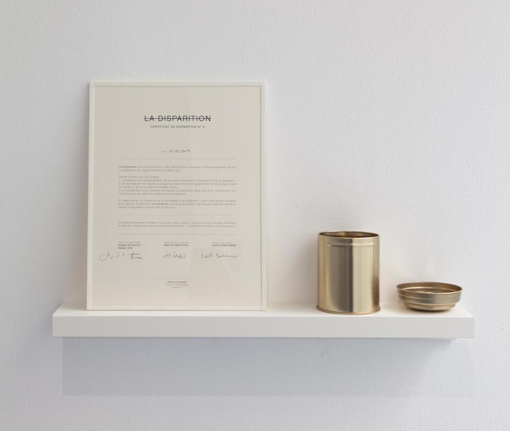 [PERFORMANCE] Judith Deschamps Galerie Martine Aboucaya pour la Nocturne des galeries – Fiac