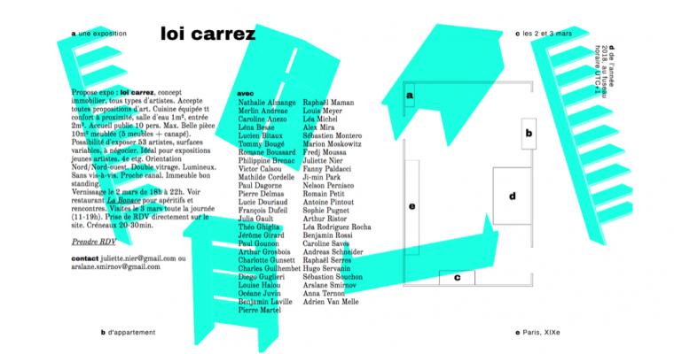 02▷03/03 – LOI CARREZ – PARIS 19
